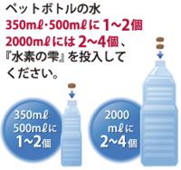 水素水の素 レッド・ハイドロゲンの使用方法